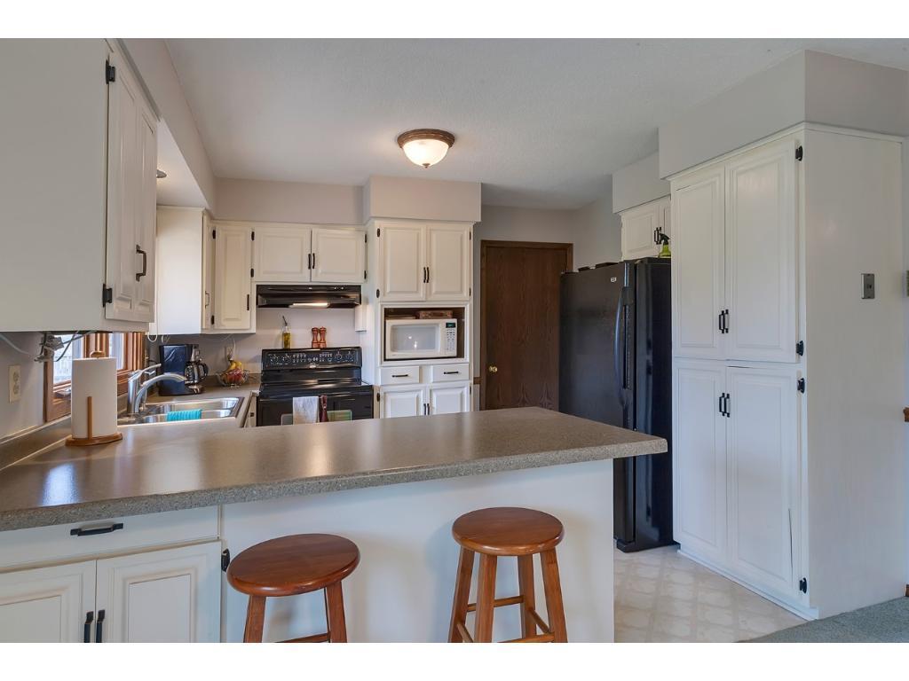 Kitchen has Ample Storage