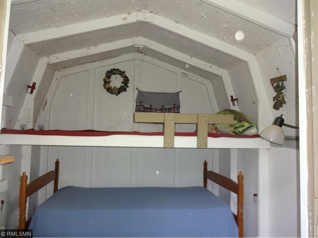inside of bunkhouse