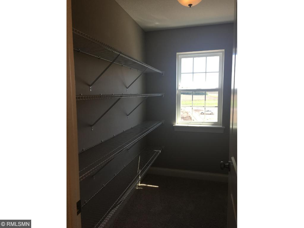 Need extra storage - check out this additional linen closet.