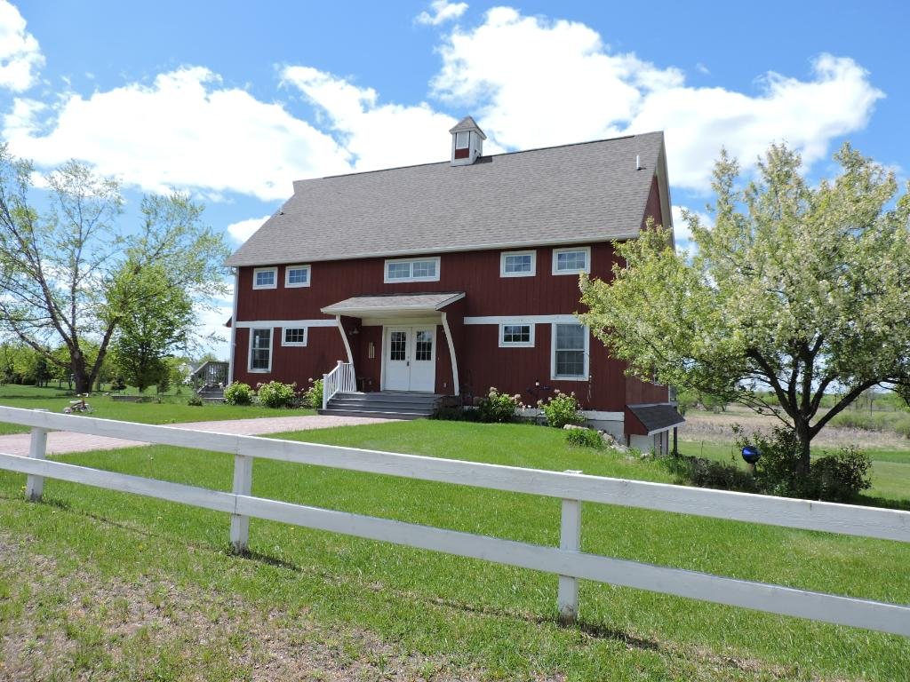 Over 10 acres just at the edge of town...Country feel with the
