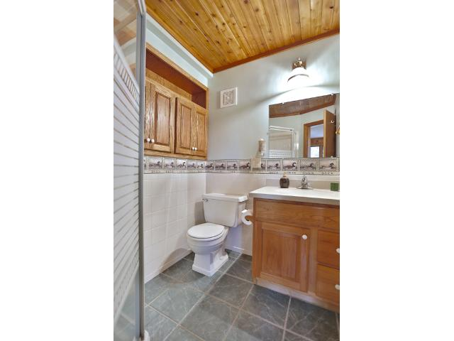 Lower level 3/4 bath.